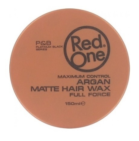 Red One Argan Matte Hair Wax Full Force - 3 x 150 ML